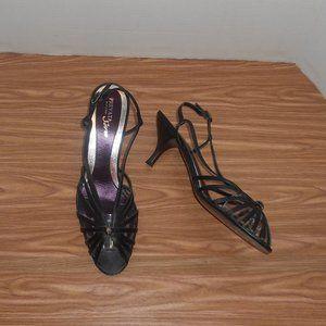 Prevata strappy sandals with rhinestone decoration